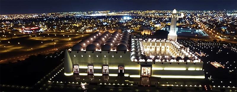 Abdul Wahhab Moschee in Doha (Katar)