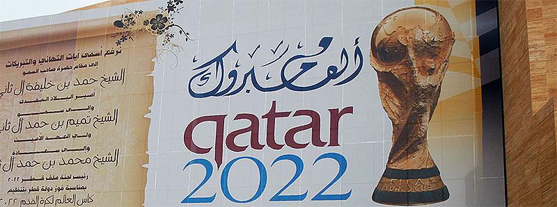 FIFA-WM 2022 Vergabe an Katar