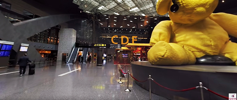 Hamad International Airport Innenbereich