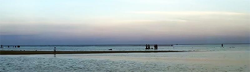 Abendlicher Strand bei Al Wakra (Katar)