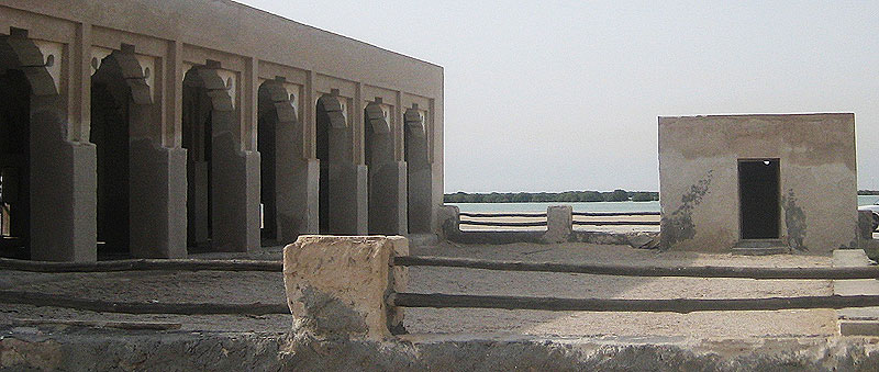Alte Gebäude in Katar