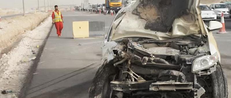 Autounfall in Katar