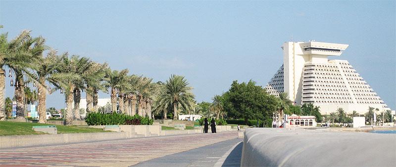 Corniche in Doha (Katar)