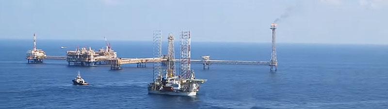 Erdgas- und Erdölproduktion in Katar