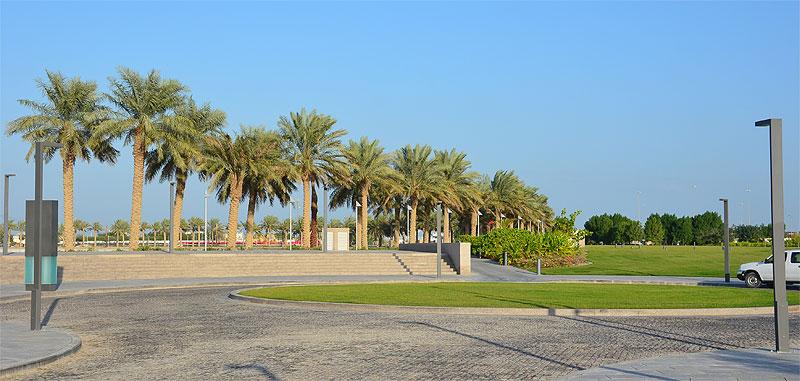 Grünfläche in Doha