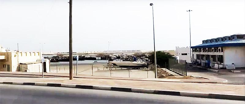 Hafenbereich von Al Khor (Katar)