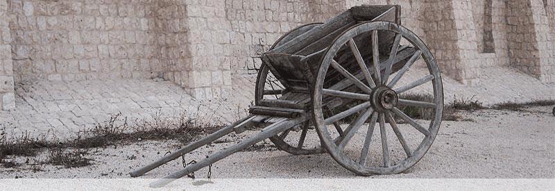 Historishcer Wagen in Katar (Geschichte Katars)