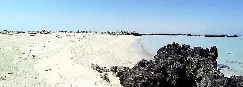 Strand bei Dukhan