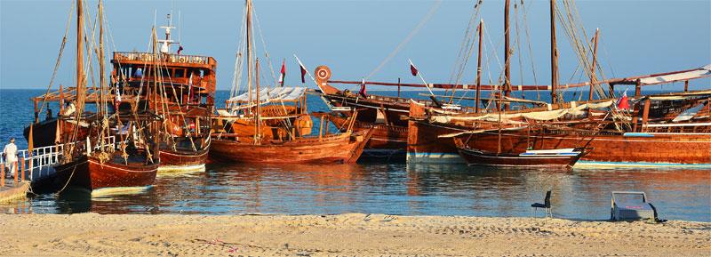 Strand im Katara-Village (Katara-Beach)