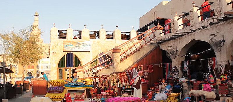 traditioneller Souk in Katar