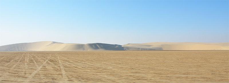 Wüste in Katar