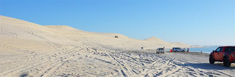 Wüstentripp in Katar