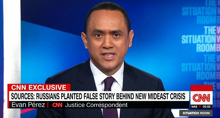 CNN - russische Hacker verantwortlich für Krise im Nahen Osten