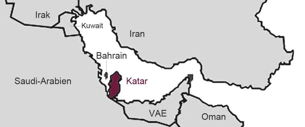 Emirat Katar plötzlich isoliert