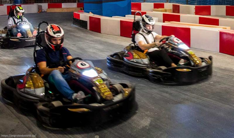 Angry Birds World Doha Go-Kart-Track