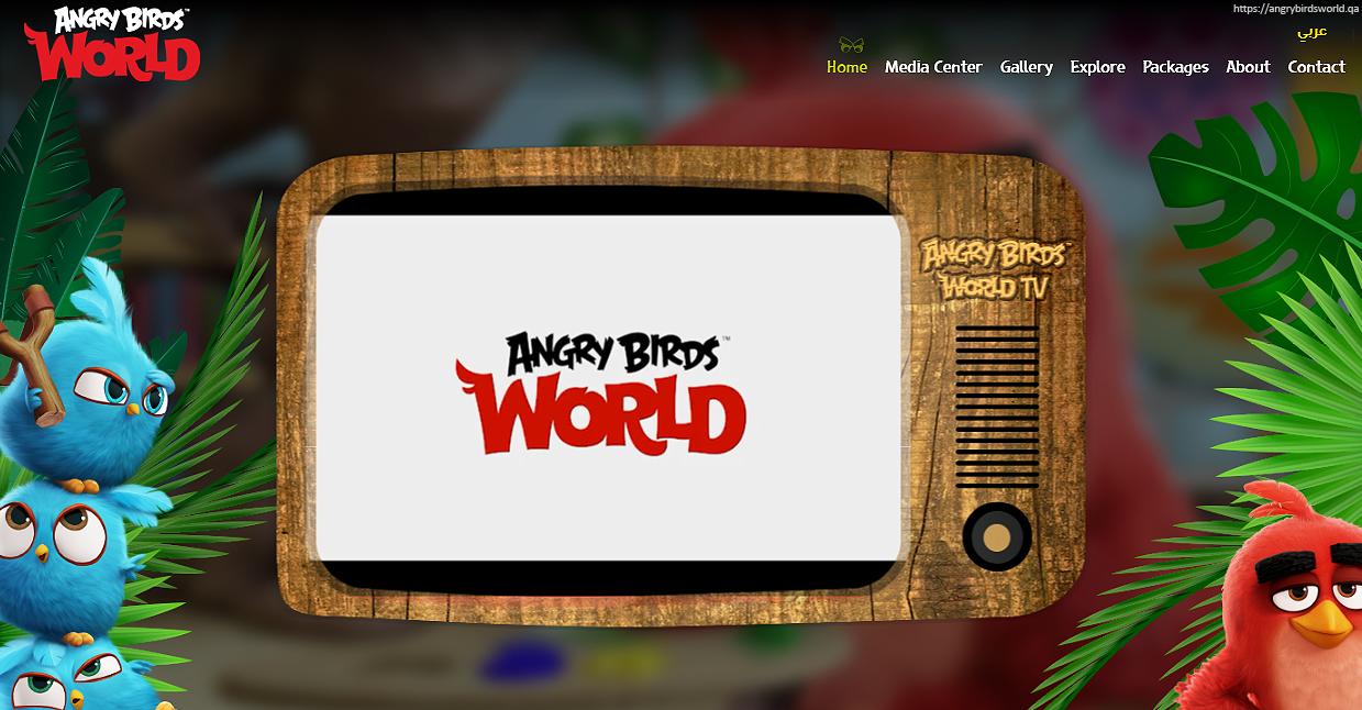 Angry Birds World Doha Eröffnung