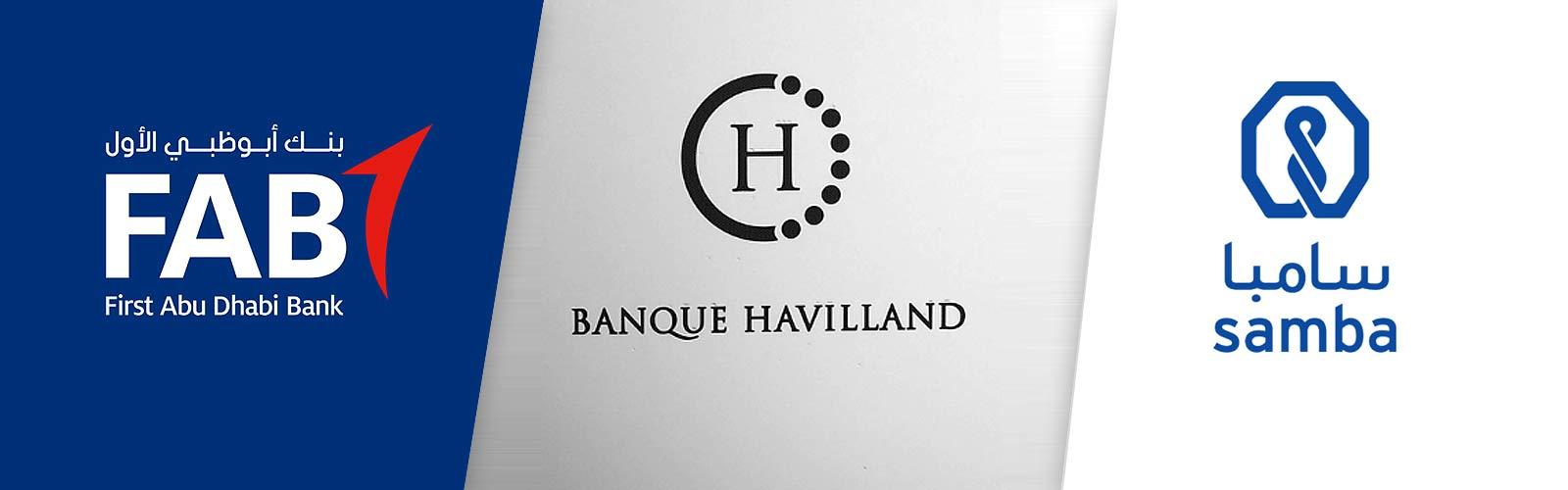 Katar verklagt FAB, Samba Bank und Banque Havilland