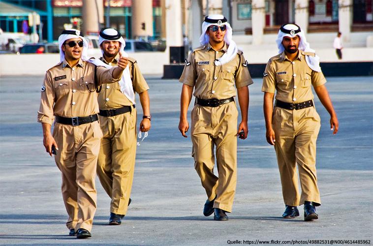 Polizei in Katar